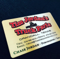 Color Printed Metal Business Cards-thumb