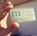 Brass Embossed Metal Cards-thumb