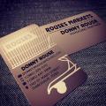 Printed Copper Metal Cards-thumb