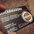 Texture Matt Black Membership Cards -thumb
