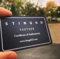 Jewelry company Membership Authenticity Cards -thumb