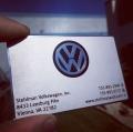 Volkswagen Metal Business Card-thumb