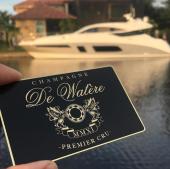 Wine Company  Metal Membership Card -thumb