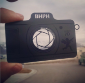 Photographer Metal Business Cards-thumb