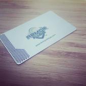 Laser Cut Silver Metal Cards-thumb