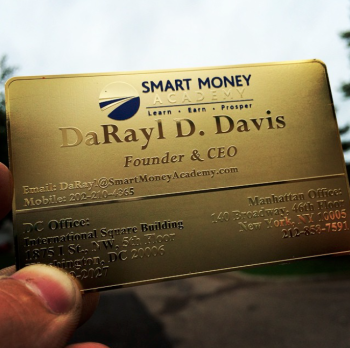 Gold Funded Metal Cards