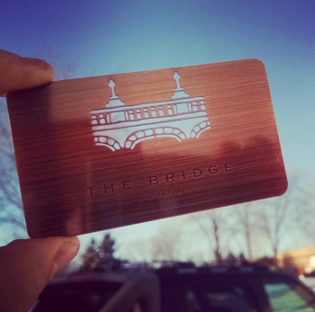 Monument Copper Metal Cards