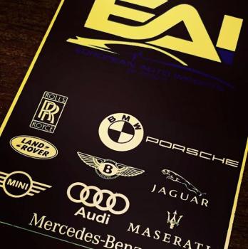 Car Dealer Metal Business Cards