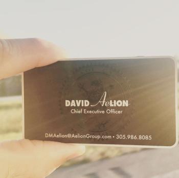 Golden Metal Card
