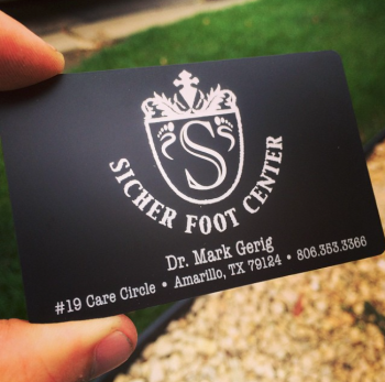 Black Steel Business Card