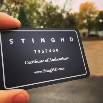 Jewelry company Membership Authenticity Cards