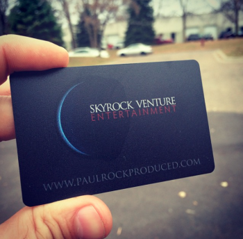 Black and Silver Business Cards