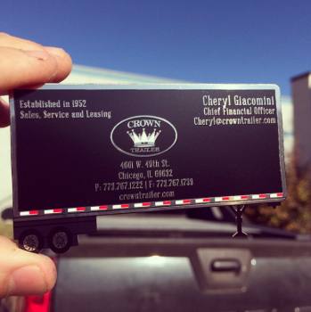 Leasing Company Metal Cards