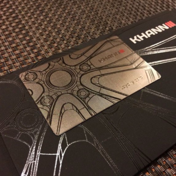 Racing Business Metal Cards