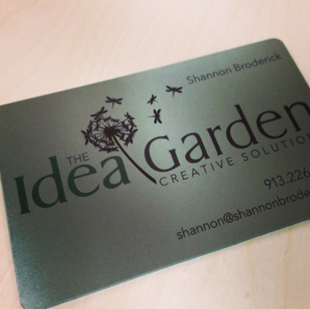 Stainless Steel Visiting Card