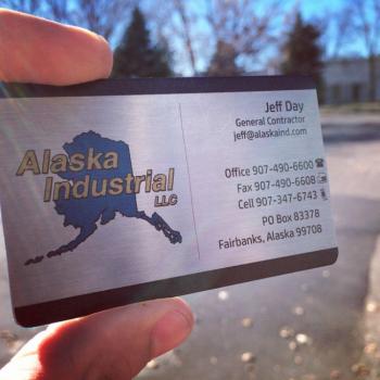 Sheet Metal Business Cards