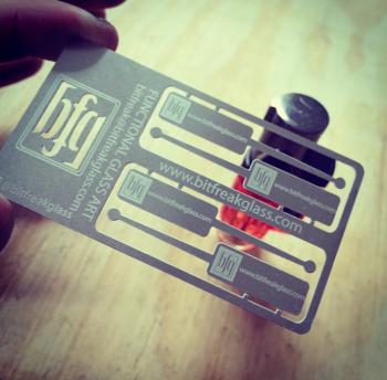 Custom Shape Steel Cards
