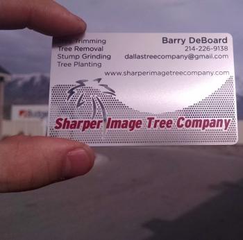 Low Cost Steel Metal Business Cards