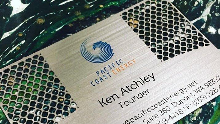 Miami Art Design Week - Luxury Metal Cards On Full Display At Brickell